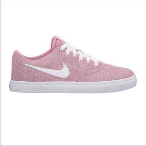 Nike Solarsoft Skateboard Pink Shoes Size 9.5